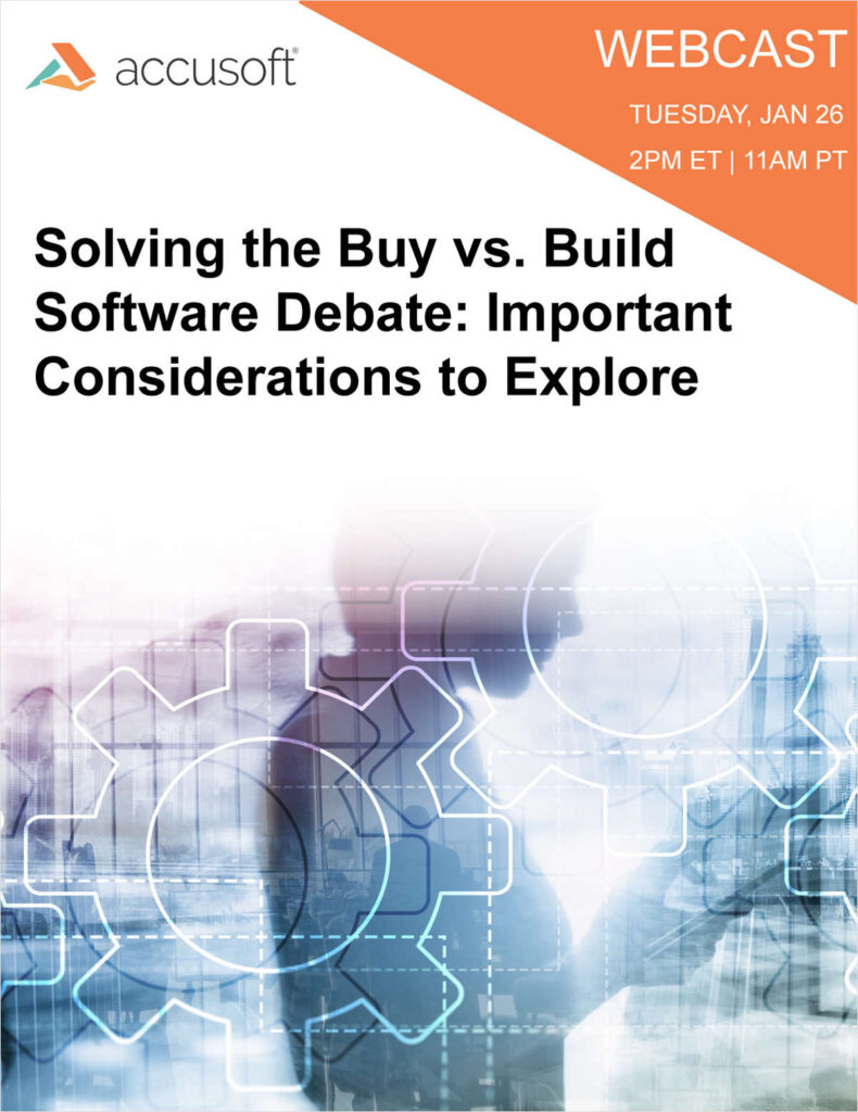 Solving the Buy vs. Build Software Debate: Important Considerations to Explore
